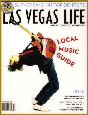 Las Vegas Life Magazine Cover